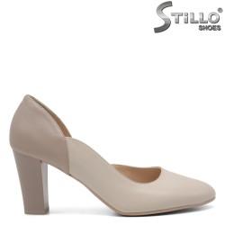 Дамски асиметрични обувки на ток - 33028