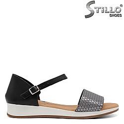 Ежедневни сандали от естествена кожа - 33036