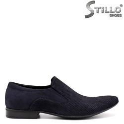 Мъжки обувки от естествен набук - 33066
