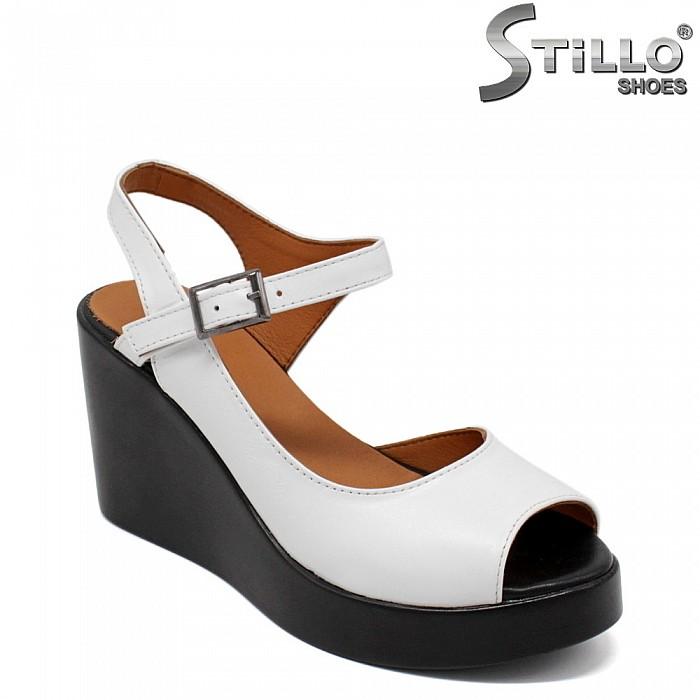 34, 35 номер дамски сандали на платформа - 33078