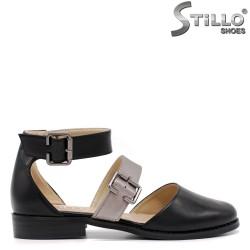 Летни дамски отворени обувки - 33121