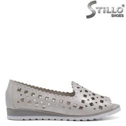 Сребърни ежедневни обувки - 33259