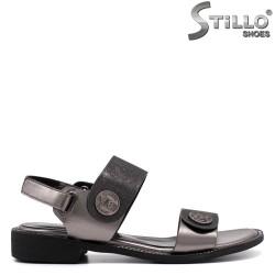 Дамски бронзови сандали - 33270