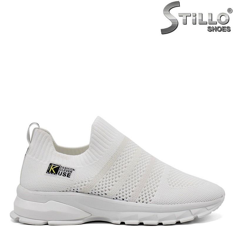 Спортни бели обувки - 33280