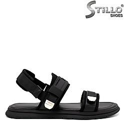 Мъжки сандали в черен цвят - 33284