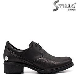 Есенни обувки естествена кожа - 33348
