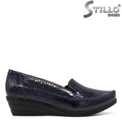 Тъмносини дамски обувки - 33361