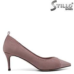 Остри обувки на тънък ток - 33363