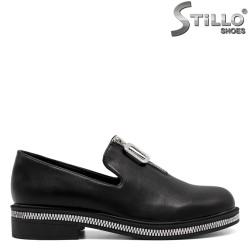 Дамски обувки с цип на свода - 33404