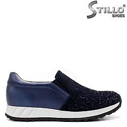 Спортни обувки от естествена кожа и велур - 33448