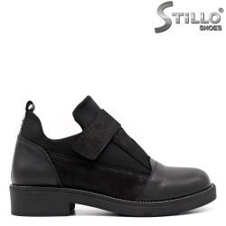 Дамски есенни обувки на нисък ток - 33467