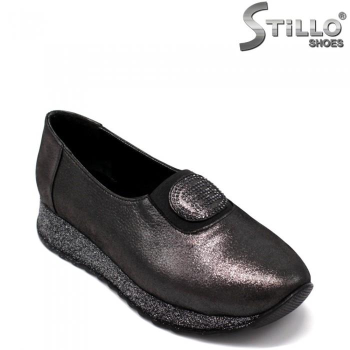 Бронзови обувки на равно ходило - 33472