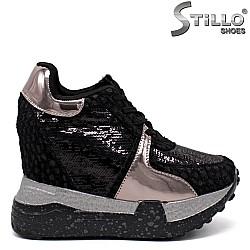 Модерни спортни обувки на платформа - 33520