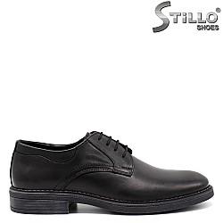 Официални мъжки обувки с връзки - 33531