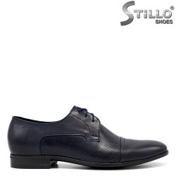 Официални сини обувки - 33532