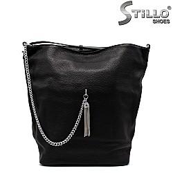 Дамска чанта тип торба със синджир - 33826