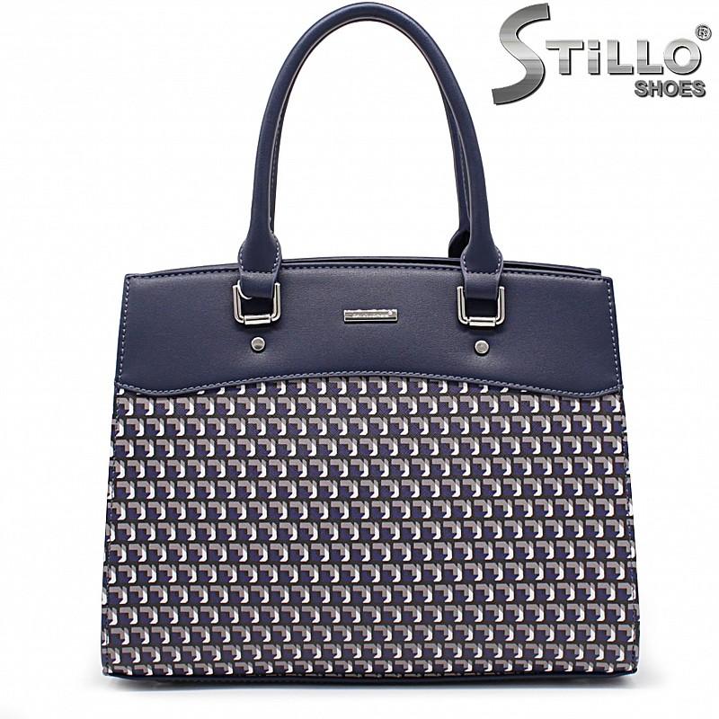 Дамска чанта в син цвят- 35936