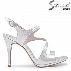 Асиметрични абитуриентски сандали-35987