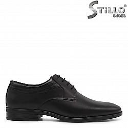 Мъжки елегантни обувки с връзки - 36162