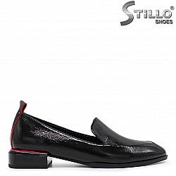 Елегантни обувки на нисък ток- 36218