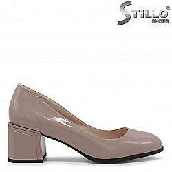 Бежови дамски обувки - 36239