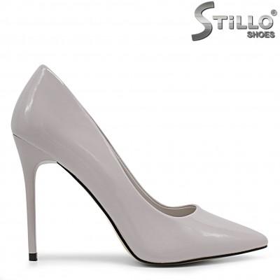 Елегантни сиви обувки - 36343