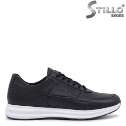 Сини мъжки спортни обувки -36348