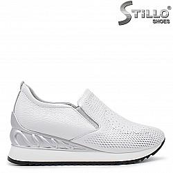 Ежедневни дамски обувки на платформа - 36371