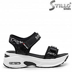 Спортни сандали на платформа - 36025