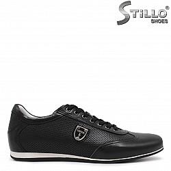 Спортни мъжки обувки с връзки - 36081