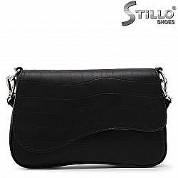 Малка чанта за през рамо с кроко принт – 36118