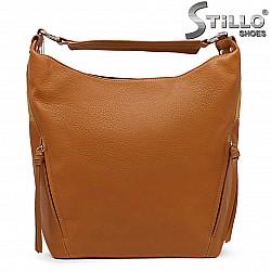 Дамска чанта в цвят камел – 36130