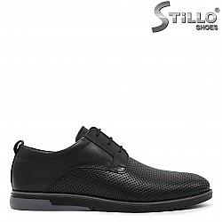 Мъжки обувки с перфорирана кожа - 36165