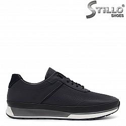 Мъжки кожени спортни обувки - 36166