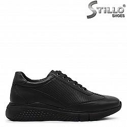 Мъжки обувки с дебела подметка - 36168