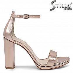Сандали розово злато - 36172