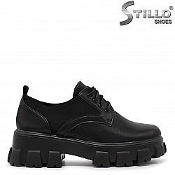 Дамски обувки на гръндж платформа - 36300
