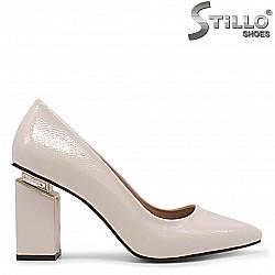 Розови дамски обувки на висок ток – 36356