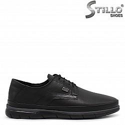 Спортно-елегантни мъжки обувки от кожа – 36360