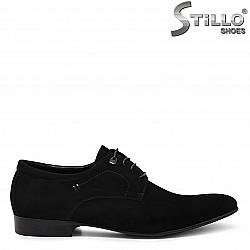 Мъжки обувки от естествен велур – 36367