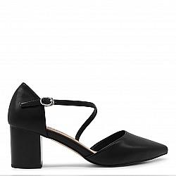 Дамски обувки с каишка - 36389