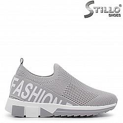 Фешън стреч обувки - 36401
