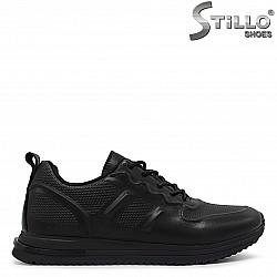 Дамски спортни обувки от естествена кожа – 36406