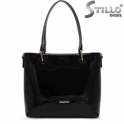 Дамска лачена чанта - 36462