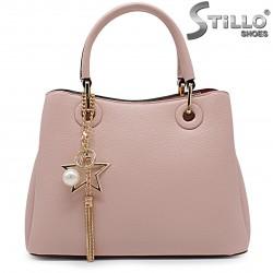 Розова стилна чанта - 36471