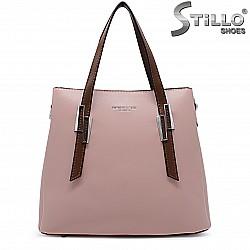 Дамска розова чанта - 36474