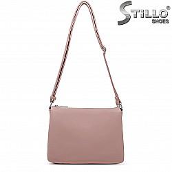 Розова чанта през рамо – 36481