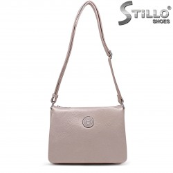 Дамска чанта в перлено бронзово – 36483