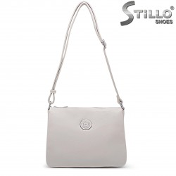Бежова чанта за през рамо – 36485