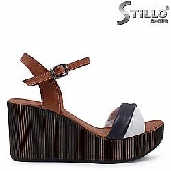 Дамски сандали на  платформа – 36520
